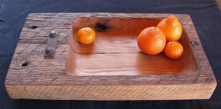 Oak plank vessel