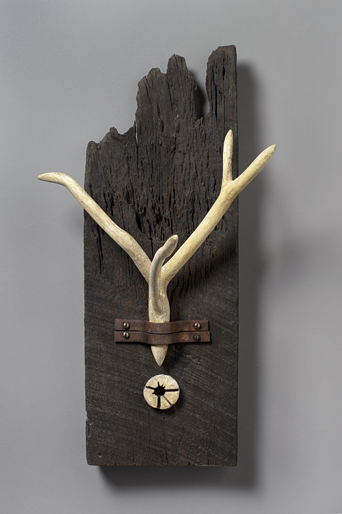 """Antler"" #1 (all wood, no animal parts)"