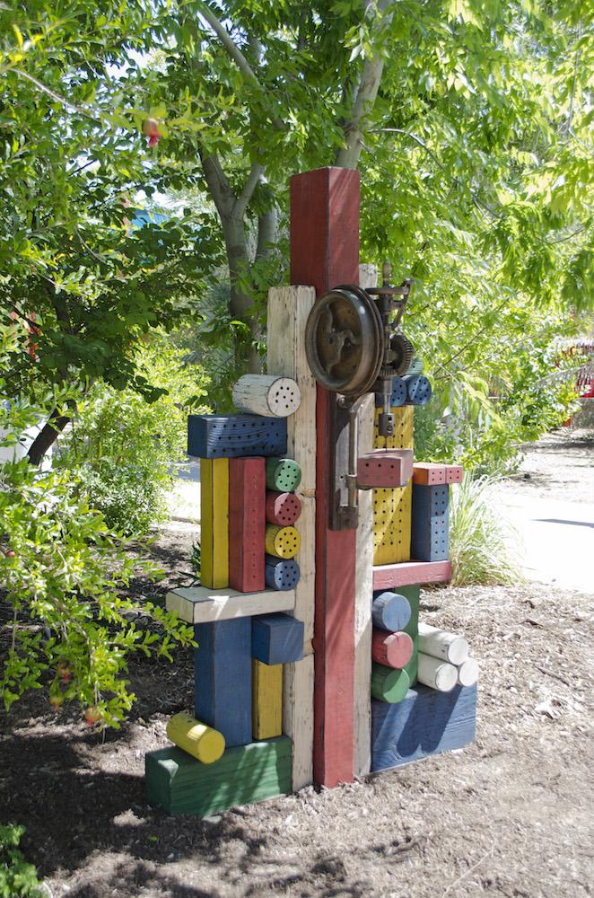 Bee habitat - commission for Phoenix Zoo