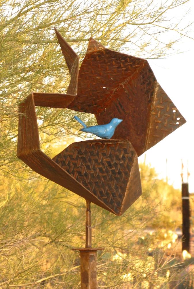 Bluebird's redoubt detail