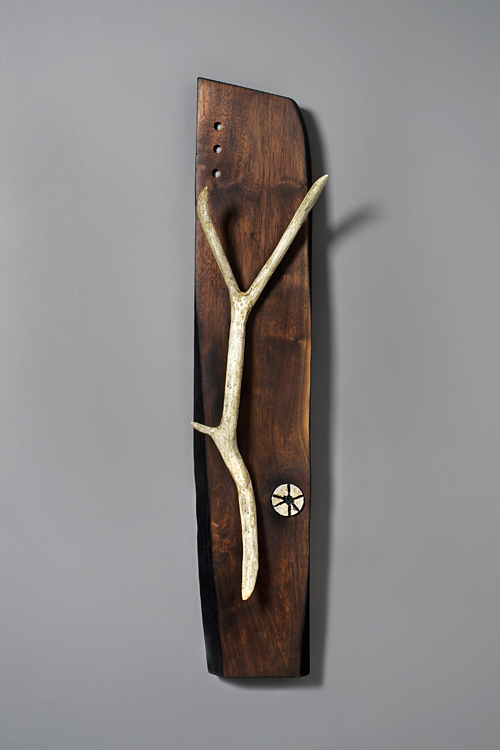 """""""Antler"""" #4 (all wood, no animal parts)"""