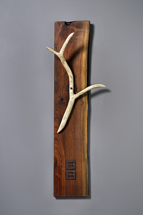 """Antler"" #3 (all wood, no animal parts)"